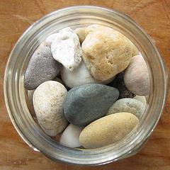 Prioritize the stones, not the sand.