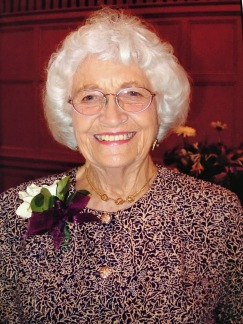 Grandma Twila at Adrienne and Darwins Wedding - 2001